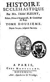 Histoire ecclésiastique: depuis Jésus Christ jusqu'à l'an 1595, Volume12