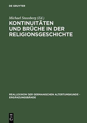 Kontinuit  ten und Br  che in der Religionsgeschichte PDF