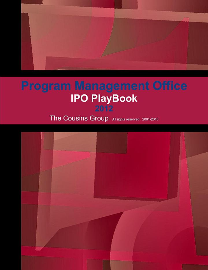 Program Management Office/ PlayBook