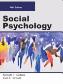 SOCIAL PSYCHOLOGY  Fifth Edition  Paperback 4C  PDF