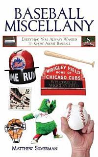 Baseball Miscellany Book