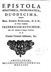 Epistola anatomica, problematica, duodecima