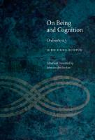On Being and Cognition PDF