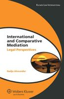 International and Comparative Mediation PDF