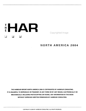 The Harbour Report PDF