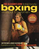 The Gleason s Gym Total Body Boxing Workout for Women PDF