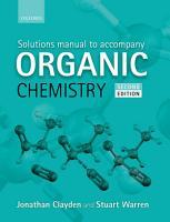 Solutions Manual to Accompany Organic Chemistry PDF