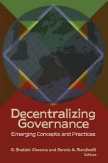 Decentralizing Governance PDF