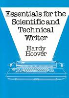 Essentials for the Scientific and Technical Writer PDF