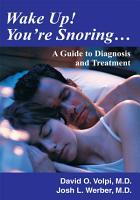 Wake Up  You re Snoring PDF