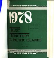 Trust Territory of the Pacific Islands PDF