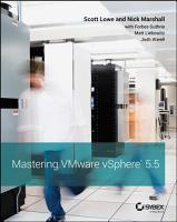 Mastering VMware vSphere 5 5 PDF