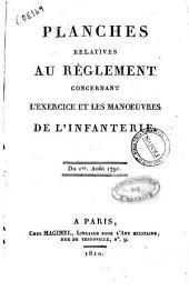 Reglement concernant l'exercice et les manoeuvres de l'infanterie. Du premier aout 1791: Planches relatives au reglement concernant l'exercice et les manoeuvres de l'infanterie. Du premier aout 1791, Volume2