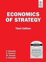 ECONOMICS OF STRATEGY  3RD ED PDF