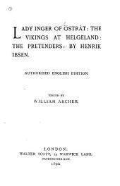 Ibsen's Prose Dramas: Volume 3
