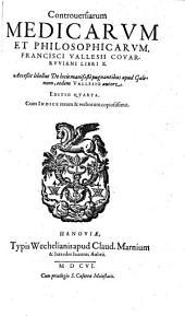 Controversiarum medicarum et philosophicarum libri decem