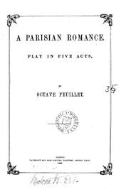 A Parisian romance, play