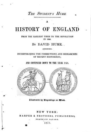 A History of England from the Earliest Times to the Revolution in 1688 PDF