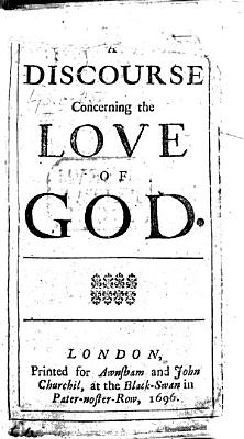 A Discourse Concerning the Love of God PDF
