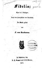 Fidelio: oper 3 Aufzüge