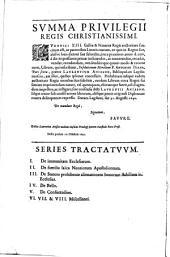 R.P.D. Antonini Diana ... Resolutionum moralium pars sexta: in qua selectiores casus conscientiae breuiter ... explicabuntur