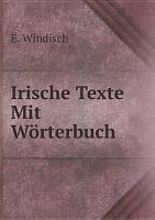 Irische Texte Mit W rterbuch PDF