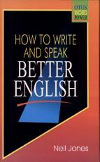 How to Write   Speak Better English PDF