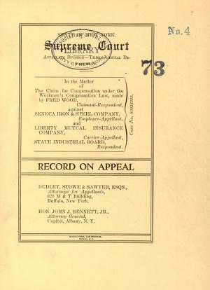 State of New York Supreme Court Appellate  Divison Third Department  PDF