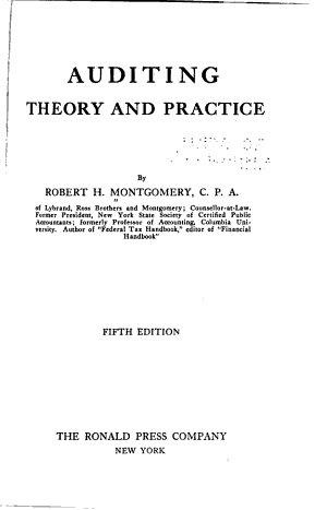 Auditing Theory and Practice PDF