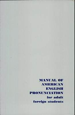 Manual of American English Pronunciation PDF