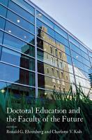 Doctoral Education and the Faculty of the Future PDF