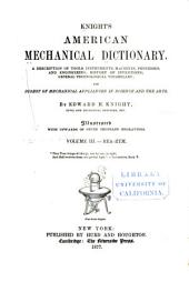 Knight's American Mechanical Dictionary: Volume 3