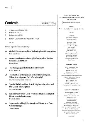 Publications of the Modern Language Association of America PDF
