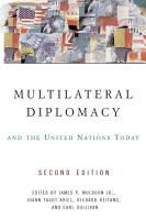 Multilateral Diplomacy and the United Nations Today PDF