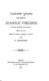 De gestis Joannæ Virginis, Franciæ egregiæ bellatricis: poème de 1516