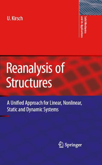 Reanalysis of Structures PDF
