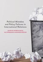 Political Mistakes and Policy Failures in International Relations PDF