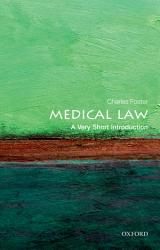 Medical Law A Very Short Introduction Book PDF