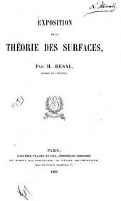 Exposition de la théorie des surfaces