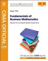 CIMA Official Learning System Fundamentals of Business Mathematics PDF