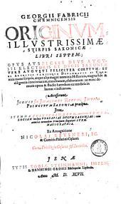 Origines illustrissimae stirpis Saxoniae