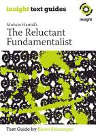 Mohsin Hamid s The Reluctant Fundamentalist PDF