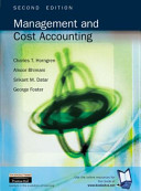 Management and Cost Accounting PDF