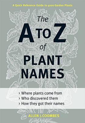 The A to Z of Plant Names PDF