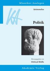 Aristoteles: Politik: Ausgabe 2