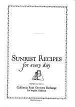 Sunkist Recipes for Every Day