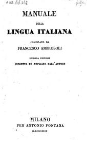 Manuale della lingua italiana