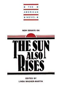 New Essays on The Sun Also Rises Book