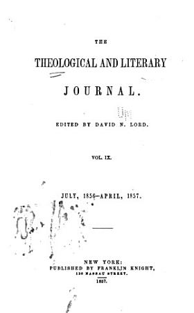 The Theological and Literary Journal PDF