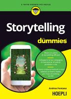 Storytelling for dummies PDF